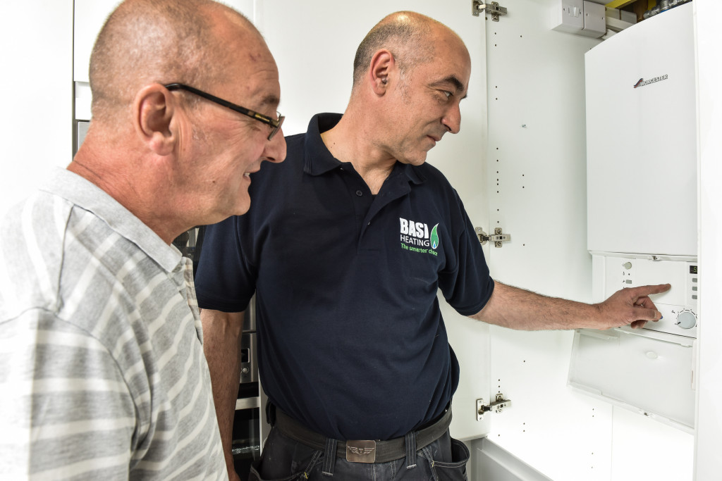 showing you how to use your boiler
