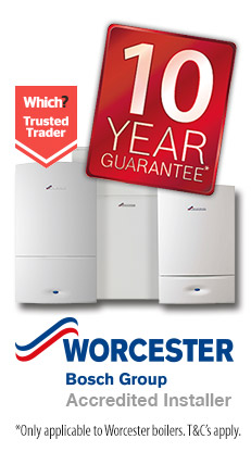 10 year guarantee on boiler installations